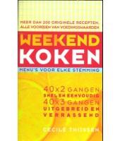 Weekend koken - Cecile Thijssen